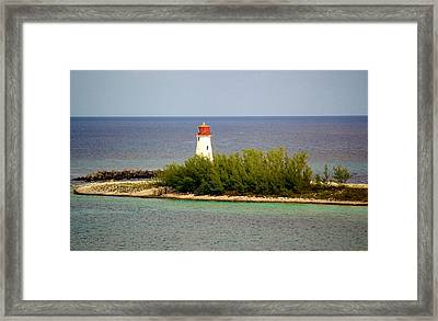 The Light House Framed Print by Paulette Thomas