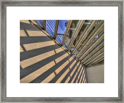The Light Framed Print by Paul Wear