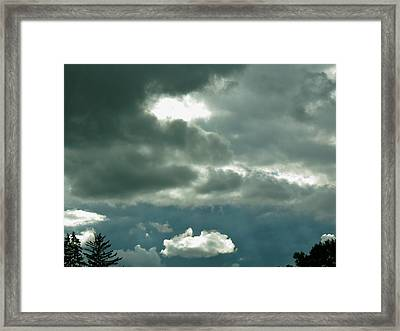 The Light Pours Out Of Me Framed Print