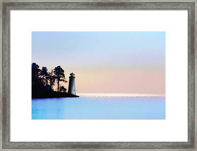 The Lighthouse Framed Print by Bill Cannon