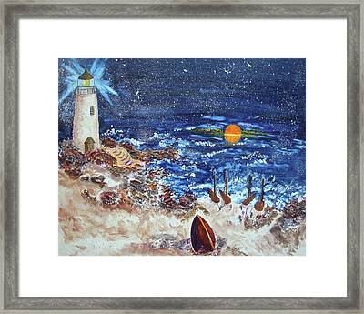 The Lighthouse Framed Print