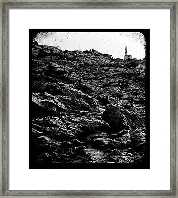 Framed Print featuring the photograph The Lighthouse1 by Pedro Cardona