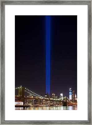 The Lights - 9-11 Tribute Framed Print