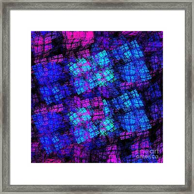 The Lights Are On But No One Is Home Framed Print by Andee Design