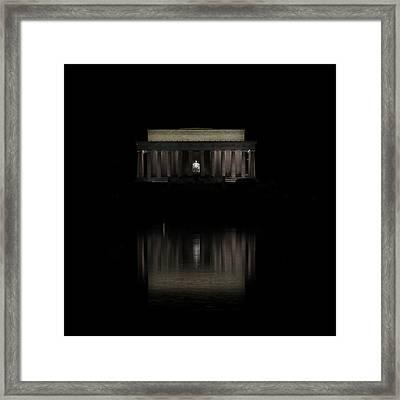 The Lincoln Memorial Framed Print by Kim Hojnacki