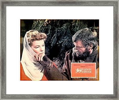 The Lion In Winter, Katharine Hepburn Framed Print by Everett