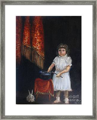 The Little Magician Framed Print by Stella Violano