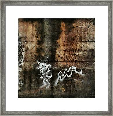 The Little Trumpet Player Framed Print by Gun Legler