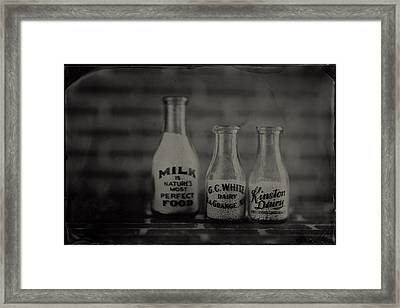 The Locals Framed Print by Chris Morgan