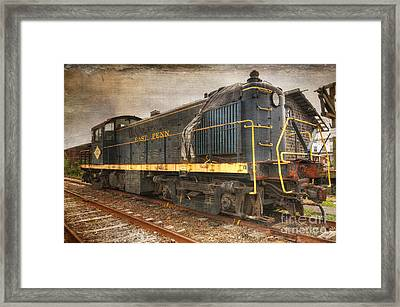The Locomotive Framed Print by Paul Ward