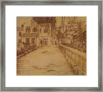 The Lodge School Framed Print