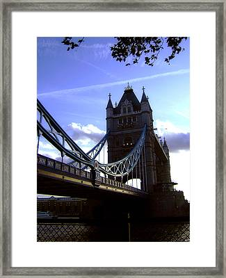 The London Tower Bridge Framed Print by Steve K