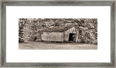 The Long Barn Framed Print by JC Findley