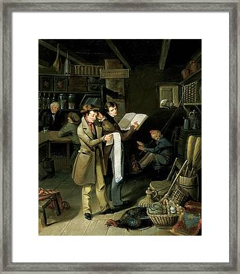 The Long Bill Framed Print