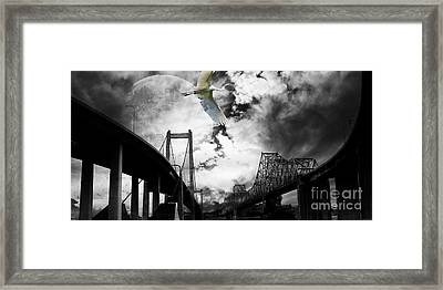 The Long Journey Framed Print by Wingsdomain Art and Photography