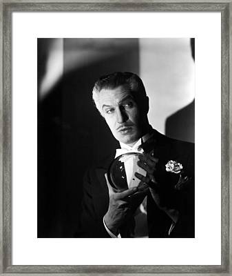 The Long Night, Vincent Price, 1947 Framed Print by Everett