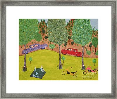 The Long Vacation Framed Print by Gregory Davis
