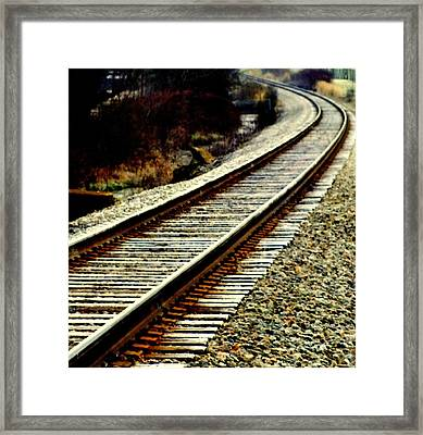 The Long Way Home Framed Print by Karen Wiles