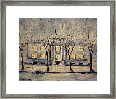 The Long Winter Framed Print by Daniel W Green
