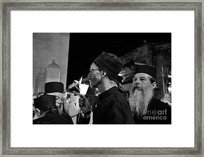 The Look 03 Framed Print by Arik Baltinester