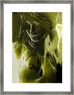 The Look Of Medusa Framed Print by Steve K