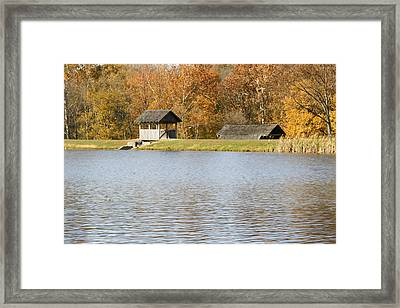 The Look Out  Framed Print by Franklin Conour