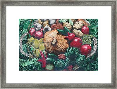 The Lord's Abundance Framed Print by Collin Edler