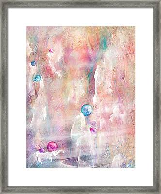 The Lost Marbles Framed Print by Rachel Christine Nowicki