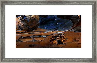 The Lost Probe Framed Print