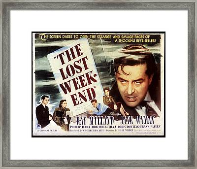 The Lost Weekend, Philip Terry, Jane Framed Print by Everett