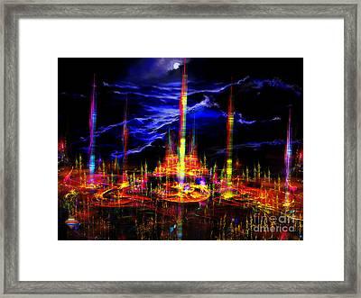 The Lost World Framed Print by Vidka Art