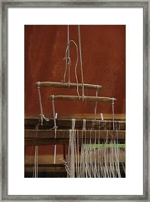 The Lot Of The Weaver Framed Print by Odd Jeppesen