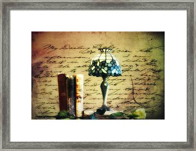 The Love Letter Framed Print by Bill Cannon