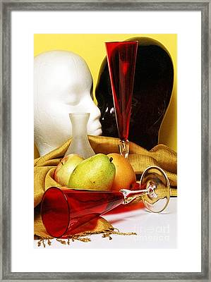 The Lovers Framed Print by Elf Evans