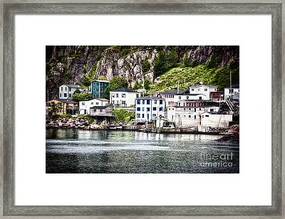Framed Print featuring the photograph The Lower Battery by Verena Matthew