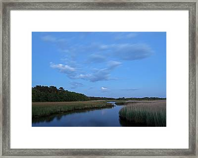 The Lower Cape Framed Print