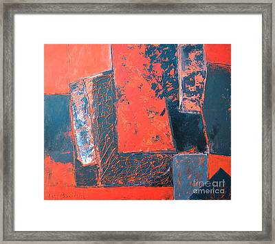 The Ludic Trajectories Of My Existence  Framed Print by Ana Maria Edulescu