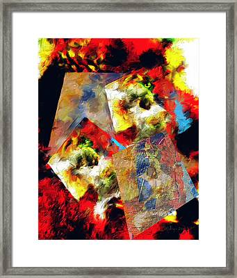 The Luminous Plain Of Existence Framed Print