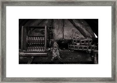 The Machine Framed Print by Tim Nichols