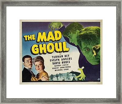 The Mad Ghoul, Turhan Bey, Evelyn Framed Print