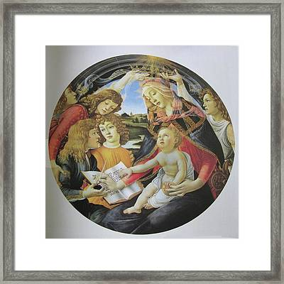 The Madonna Of The Magnificent Framed Print by Carl Purcell