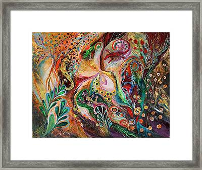 The Magic Circle... Available For Direct Purchase On Www.elenakotliarker.com Framed Print by Elena Kotliarker