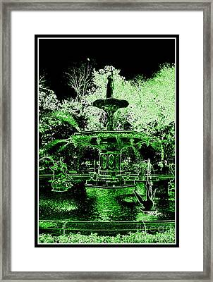 Green Savannah Framed Print by Carol Groenen