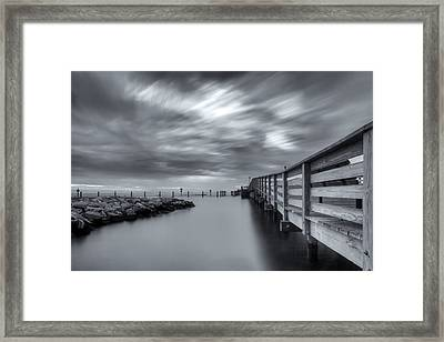 the magic of the Big Stopper Framed Print by Edward Kreis