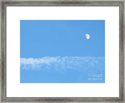The Magic Of The Moon Framed Print by Valia Bradshaw