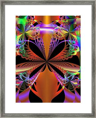 Framed Print featuring the digital art The Magic Vase by Ann Peck