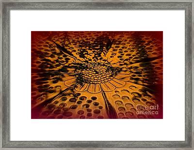 The Magic Wheel Of Fortune Framed Print