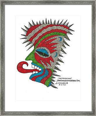 Picasso Framed Print by Jerry Conner