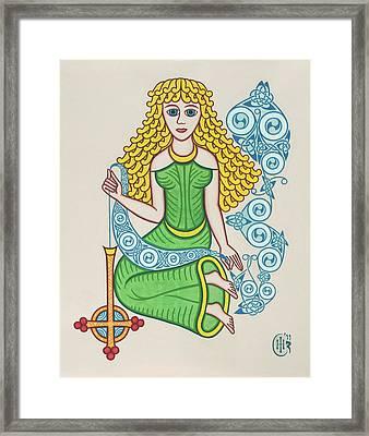 The Maiden Framed Print