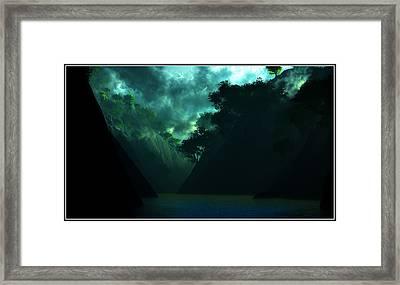 Framed Print featuring the digital art The Majesty... by Tim Fillingim